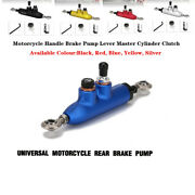 Motorcycle Handle Brake Pump Lever Master Cylinder Clutch W/oil Cup Accessories