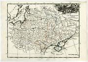 Antique Print-warsaw-moscow-vilnius-berlin-poland-russia-germany-le Rouge-1756