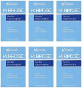 Purpose Gentle Cleansing Face Bar Soap Hypoallergenic 3.6 Ounce Pack Of 6