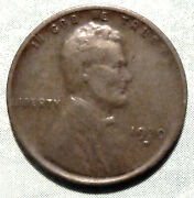 1930 D Wheat Penny Xf Extra Fine Brown 40 Mill Denver Depression Era Collectible