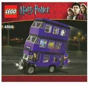 Brand New Lego Harry Potter 4866 The Knight Bus, Sealed And Mint Condition