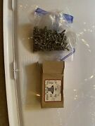 177pcs 10-32 X 5/8 With 8 Phillips Oval Head Stainless Steel Machine Screws