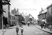 Mpo-67 Street View With Horse And Cart Alton Hampshire. Photo