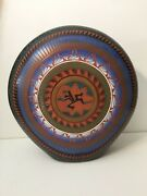 Native American Navajo Pottery By Gray Collectable Art, 11 3/8 Tall X 10 1/2 W