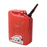 Midwest Can Company 5810 5-gallon Durable Metal Gas Can With Quick Flow Spout