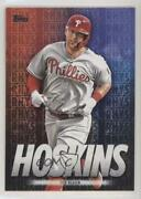 2020 Topps Wal-mart Player Highlights Black /299 Rhys Hoskins Rh-29