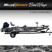 Taurus Grey Boat Wrap Kit 3m Cast Vinyl Graphic Decal - 6 Sizes Available