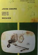 John Deere Ag Farm Tractor No. 5 Caster Sickle Mower Owner And Maintenance Manual