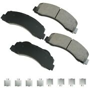 Akebono Asp1414a Ford/lincoln Performance Ultra-premium Ceramic Brake Pads Front