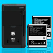 For Samsung Solstice Sgh-a887 Atandt 2x 1000mah Rechargeable Battery Quick Charger
