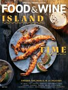 Food And Wine Magazine Subscription - 12 Issues - Recipes Menus Chefs Wine