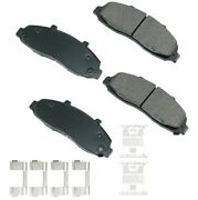 Akebono Act679a Ford F-150 Performance Ultra-premium Ceramic Brake Pads Front