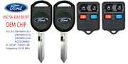2 New Ford H92 Sa 80 Bit Oem Original Chip + 4 Button Remote Best Quality A++