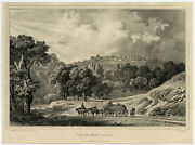 Antique Master Print-kasselberg-mont Cassel-early Lithograph-deroy-ca. 1825
