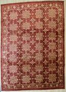 Eorc Fa7148rd10x14 Area 10and039 X 14and039 Handmade Afghan Wool Transitional Rugsall O...