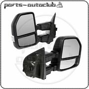 For 17-19 Ford F250 Power Heat Signal Clearance Lamp Temperature Sensor Mirrors