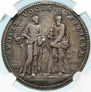 1678 Italy Vatican Pope Clement Xi Peace In Europe Christian Medal Ngc I83707