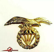 Beret Badge Of Parachutist Brigade From Spanish Army. Circa 80and039s E-045