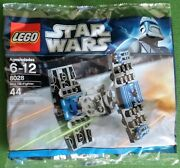 New And Sealed Lego Star Wars Polybag Set 8028 Mini Tie Fighter Retired Rare