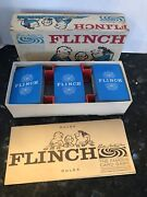 Vintage Flinch Card Game 1963 Parker Brothers W/instructions /box /all Cards