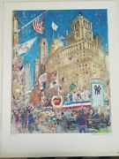 Sold Out Limited Edition Kamil Kubik - 1996 Yankees World Series Parade 413/450