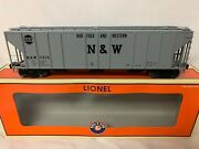 ✅lionel Norfolk Western Ps-2cd 4427 Covered Grain Hopper O Scale Nandw Southern
