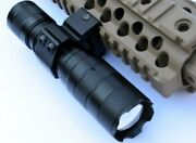 Cree T6 Led Flashlight For Rifles Shotguns With Picatinny Mount Batterycharger