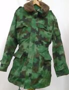 Serbia Camo Winter Jacket M-93 Parka Coat Jna Yna M-03 Pattern For Heigh 178 Cm