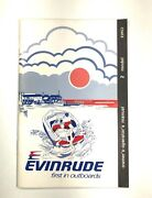 1981 Evinrude Vintage Owners Operators Manual 2 Hp Outboard Motor 208794