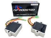 2 Pack Rectifier Voltage Regulator Fits Mercury Mariner Outboard 6 Wire 883072t