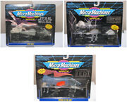 Vintage Star Wars Micro Machines Vehicle Collection, Set Of 3 Vehicles, Moc