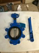 Ohio Valve Company Butterfly Model 4800sel Body Di Disk Ss316 Seat Epdm Stem