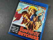 Bloodthirsty Butchers Blu-ray 2018 England Cult Classic Rare Horror