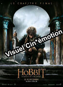 Poster Roll 47 3/16x63in The Hobbit, The Battle Of 5 Armed Peter Jackson New
