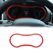 Car Dashboard Panel Ring Trim Cover For Jeep Grand Cherokee 14+ Accessories Red