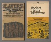 1970/77 Ancient African Kingdoms And Slavery From The Rise Paperback Lot Of 2 Vg+
