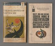 1965 Reality Man And Existence Philosophy 3rd Printing Paperback Lot Of 2 Vg-/vg