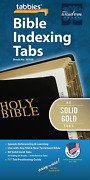 Tabbies Gold Bible Indexing Tabs, Old And New Testaments, 80 Tabs Including 64 Boo