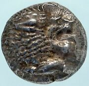 Miletos In Ionia Authentic Ancient Archaic Silver Greek Coin Lion Ngc Ms I83831