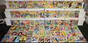 Vintage Dc Silver-copper Superboy And Legion Of Super-heroes Titles 85pc Comic Lot