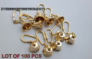 Bell Key Chain Brass Marine Lot Of 100 Pcs Nautical Vintage Collectibles Gift