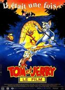 Poster Folded 15 11/16x23 5/8in Tom And Jerry - The Film 1992 Phil Roman Cel
