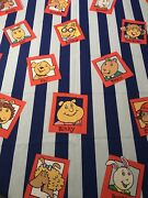 One Window Panel Curtain From Arthur Book Series Marc Brown Fabric Rare Springs