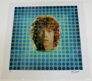 David Bowie Photograph Signed By Vernon Dewhurst Space Oddity Ltd Edition 11/30