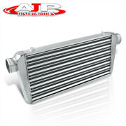 31x12x3 Universal Sport Front Mount Turbo Intercooler Aluminum W/ Bracket Kit