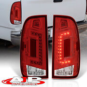 Red Len Led Replacement Brake Tail Lights Lamp For 1997-2003 Ford F150 Styleside