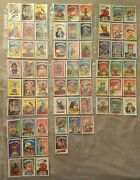 Garbage Pail Kids Sticker Trading Card Collection