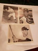 Rare 1961 Minnesota Twins Mannyand039s Baseball Land 10-player Action Pictures Nmmt
