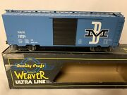 ✅weaver Boston And Maine Ps-1 40andrsquo Box Car For O Scale Train Set Bandm