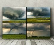 Large 40x60 Metal Tornado Photography Print Huge Nature Wall Mural Storm Picture